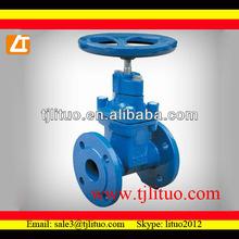factory on sale 3352 f4 DIN gate valve ductile iron rising stem gate valve