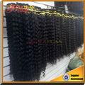 venta al por mayor rizada rizado de malasia trenzado de cabello humano