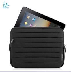 Pleated neoprene case sleeve for ipad mini