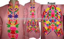 Ladies Designer Hand Embroidered Long Kurti