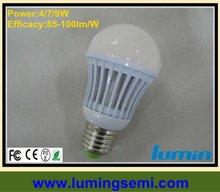 9W 7W 4W LED spotlight bulb E14 E26 E27 E17 B22