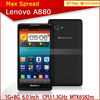 Instock mtk6582m android4.2 android phone quad core 6 inch lenovo a800 smart phone