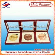 Custom Colorful cardboard box for medal/coin