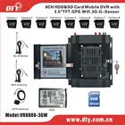 2014 Newest 8ch Full D1 3G WIFI GPS H 264 Mini CCTV hd sdi mobile dvr, VR8808 series