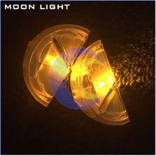 High quality lemon shape LED ice cubes RGB color