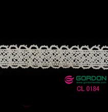 new Eyelashes lace/ivory elastic lace trim