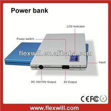 20000mah multifunction power bank surport FM radio & mp3 & TF card function for laptop
