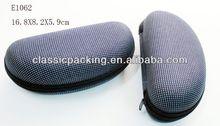 Factory Price eva eyeglasses case, logo printed microfiber lens cleaning cloth,printed microfiber sunglasses bag