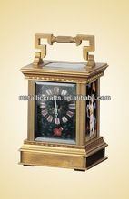 Imitation from 18th French brass cased Little Anglaise- riche Rectangle carriage clock