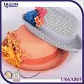 la decoración de los niños sombreros de paja