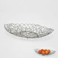 Wire Oval Shape Metal fruit basket decoration