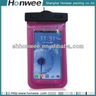 plastic neck hanging cell phone sling bag for mobile phone carry