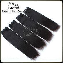 Natural Hair Products 2014 Fashionable Factory Supply No Shedding Wholesale Straight 5a Grade Virgin Weaving 100% Human Hair