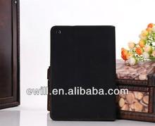 Free shipping for ipad mini Luxury PU Flip Case