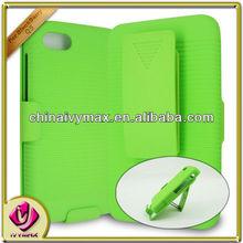 green case holster case for blackberry Q5 belt clip case