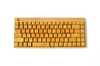 2.4G full bamboo wireless keyboard - wireless rubber keyboard