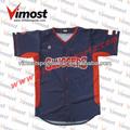 El más nuevo estilo vimost vimost sublimada camiseta de béisbol camisetas de béisbol como el diseño que te gusta para tu equipo!!