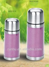 350ml hip stainless steel bullet vacuum flask insert paper RH319-350