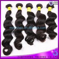 Hair Growing medicine 2014 New arrival 6A Human hair weft Girls party hair
