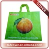 orange pattern pp woven shopping bag cheap pp laminated woven bags