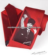 Turkey tie, Ataturk Neck tie Red necktie