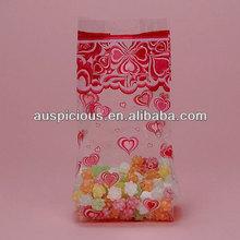 Popular transparent bopp bag for food packing