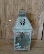 2014 Fashion Antique Decorative Metal- Glass Lantern