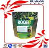 Natural root fertilizer stand up zipper packaging bag