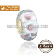 Popular women bracelet&jewelry decoration from China lampwork glass beads