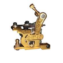2014 Wholesale Carbon Stee Tattoo Gun Golden Tattoo Machine
