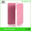 Pink PU Folded Mini series ultra slim case for ipad mini slim leather case for ipad mini