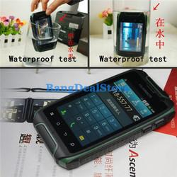 Hummer H1 MTK6572 Outdoor Sports Waterproof Smartphone