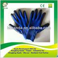 Nitrile revêtu nylon gants de travail