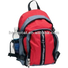 Red Padded Polyester Laptop Work Carry-On Backpack (UF-42272)