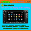 Hot selling touch screen android gps radio Toyota Fortuner car dvd player