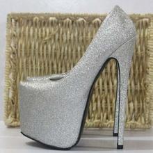 SQ4011 women shoes 18CM super high heels dress shoes high platform shoes