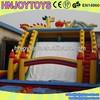 Dragon and phoenix inflatable dry slide,large inflatable toboggan slide