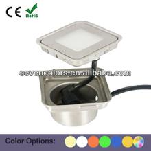 Square LED Uplight IP67 Walk Over LED Uplight Kit