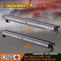 Brightness 100W 1pcs5w CREE LED Off Road Light Bar Auxiliary Lights 22 Inch LED Light Bar Wholesale LED Work Light Bar LED