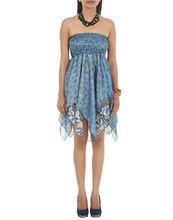 Indian Designer Short Sexy Dress Beautiful Frock Style Short Dress Silk Dress