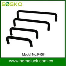 2014 black plastic hard case handles for furniture