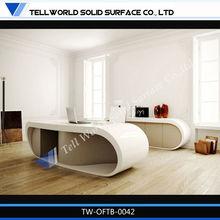 unique design cherry wood office desk