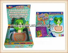 kids plastic toy intelligent learning machine / laptop / kids computer