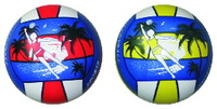 "quality 8.5"" pvc promotion inflatable beach ball set with EN71"