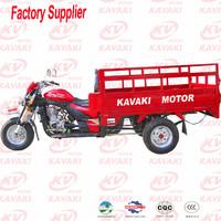China 250cc engine fuel motorized 3 wheel motorcycle for cargo