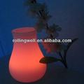 amazing luz decoração para mesa de casamento noite led rgb
