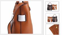 Genuine Leather Woman HandBag 906