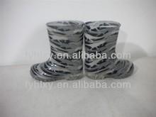 2014 cute camo pvc kids galoshes pvc rain boots