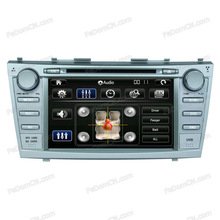 multi-media 2 din steering wheel car dvd player with built-in GPS nevigator/Bluetooth/Audio/Radio/Ipod for Toyota Camry