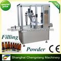Haute vitesse automatique de poudre sèche de remplissage automatique de poudre, injection de remplissage et de bouchage machine( avec platine)